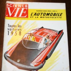 Coches: SCIENCE ET VIE - Nº 39 - SEPTEMBRE 1957 - EN FRANCÉS. Lote 80089649