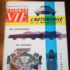 Carros: SCIENCE ET VIE - NUMERO HORS-SÈRIE - SEPTEMBRE 1956 - EN FRANCÉS. Lote 260854485