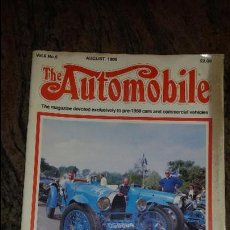 Coches: THE AUTOMOBILE MAGAZINE. 1988. TEXTO EN INGLES. 81 PAG.. Lote 81116500