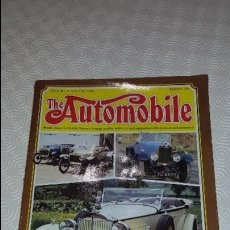 Coches: THE AUTOMOBILE MAGAZINE. 1984. TEXTO EN INGLES. 82 PAG.. Lote 81121776