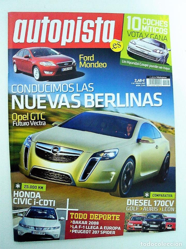 REVISTA AUTOPISTA Nº 2494 DEL 1 AL 7 DE MAYO DE 2007 (Coches y Motocicletas Antiguas y Clásicas - Revistas de Coches)