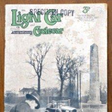 Coches: AÑO 1927 - Nº742 / LIGHT CAR AND CYCLECAR / ANTIGUA REVISTA COCHES / PUBLICIDAD / ANUNCIOS . Lote 82771788