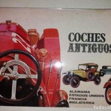 Coches: COCHES ANTIGUOS - LIBRO DE ILUSTRACIONES - AUTOMOVILES DE ALEMANIA, FRANCIA, USA E INGLATERRA. Lote 82952608