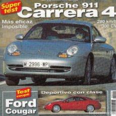 Coches: REVISTA AUTOMOVIL Nº 253 AÑO 1999. PRU. PORSCHE 911 CARRERA. FORD COUGAR 2.5 V6 24V. MERCEDES S500.. Lote 109373078
