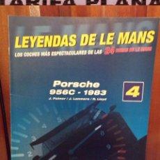 Coches: FASCICULO Nª 04 PORSCHE 956C 1983 J.PALMER - J.LAMMERS - R.LLOYD DE LA COLECCION LEYENDAS DE LE MANS. Lote 84246508