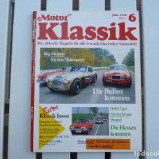 Coches: MOTOR KLASSIK. REVISTA Nº 6 JUNIO 1990. Lote 84292520
