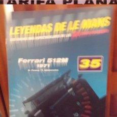 Coches: FASCICULO Nª 35 FERRARI 512M 1971 DE LA COLECCION LEYENDAS DE LE MANS DE ALTAYA. Lote 84529076