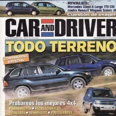 Coches: REVISTA CAR AND DRIVER Nº 72. Lote 84900388