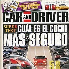 Coches: CAR AND DRIVER Nº 7. Lote 85919464