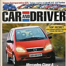 Coches: CAR AND DRIVER Nº 20 MERCEDES CLASE A. Lote 85923660