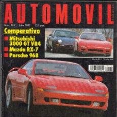 Coches: REVISTA AUTOPISTA Nº 174 AÑO 1992. PRUEBA: ALFA ROMEO 155 V6. COMP: OPEL ASTRA GSI Y VW GOLF GTI. . Lote 85990856