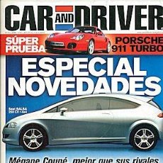 Coches: CAR AND DRIVER Nº 55 PORSCHE 911 TURBO FOR PUMA. Lote 86049336