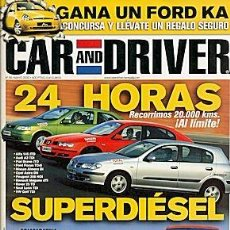 Coches: CAR AND DRIVER Nº 56 AUDI A2 SAAB 9-3. Lote 86050080