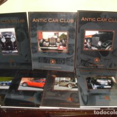 Coches: REVISTA - ANTIC CAR CLUB DE CATALUNYA - 7 EJEMPLARES NUMS. 1-3-4-5-6-7-9-. Lote 86327900