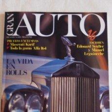 Coches: GRAN AUTO 16 (MASERATI,ALFA 164, ROLLS...ETC) AÑO 1 Nº 2 - ABRIL 1989. Lote 86506004