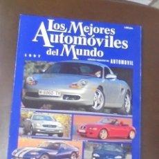 Coches: LOS MEJORES AUTOMOVILES DEL MUNDO. 1997. EDICION ESPECIAL DE AUTOMOVIL.. Lote 86904820