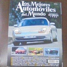 Coches: LOS MEJORES AUTOMOVILES DEL MUNDO. 1998. ESPECIAL DE AUTOMOVIL.. Lote 86904920