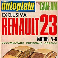 Coches: AUTOPISTA 751 RENAULT 20. Lote 87338104