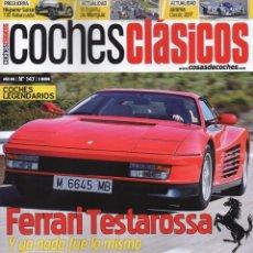 Coches: COCHES CLASICOS N. 147 - EN PORTADA: FERRARI TESTAROSSA (NUEVA). Lote 113321694