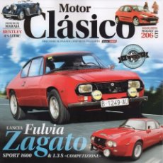 Coches: MOTOR CLASICO N. 344 ABRIL 2017 - EN PORTADA: LANCIA FULVIA ZAGATO (NUEVA). Lote 172371778