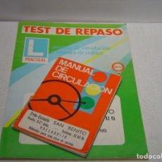 Coches: MANUAL CIRCULACION 1976 Y DOS REVISTAS COCHES DE 1988: AUTOPISTA (Nº 1500) Y MOTOR 16 (Nº 244). Lote 87473068