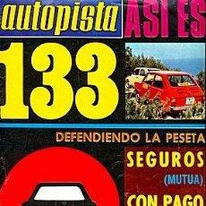 Coches: AUTOPISTA 799 SEAT 133 VW GOLF. Lote 87489660