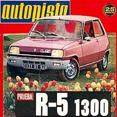 Coches: AUTOPISTA 801 RENAULT 5. Lote 87494188