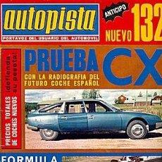 Coches: AUTOPISTA 824 CITROEN CX. Lote 87501948