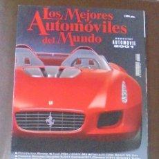 Coches: LOS MEJORES AUTOMOVILES DEL MUNDO. ESPECIAL AUTOMOVIL 2001.. Lote 87510676