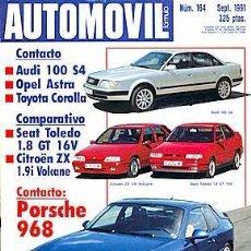 Coches: AUTOMOVIL 164 ITALDESIN NAZCA PORSCHE 968 SEAT TOLEDO CITROEN ZX NISSAN FIGARO. Lote 87588160