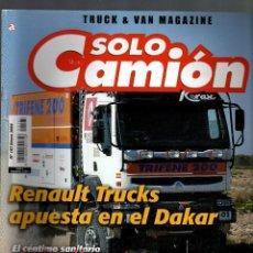 Coches: REVISTA SÓLO CAMIÓN Nº 167 · ENERO, 2004 (INCLUYE PÓSTER) - 100 PÁGINAS - . Lote 88948812