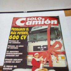 Coches: SOLO CAMION 84 12/96 HISTORIA PEGASO. Lote 89501696