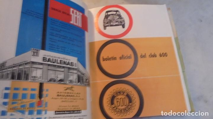Coches: (M) 600 - REVISTA CLUB 600 - 1963-1967 - DEL Nº 1 AL 44+ 1 EXTRAORDINARIO - EN 2 VOLUMENES - VOL.I - Foto 2 - 90355636