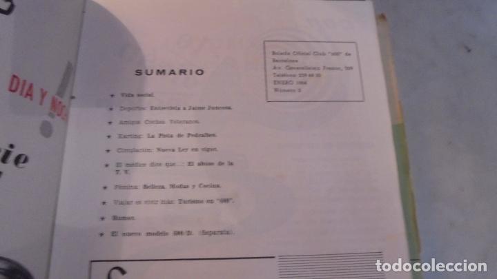 Coches: (M) 600 - REVISTA CLUB 600 - 1963-1967 - DEL Nº 1 AL 44+ 1 EXTRAORDINARIO - EN 2 VOLUMENES - VOL.I - Foto 3 - 90355636