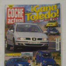 Coches: REVISTA COCHE ACTUAL Nº 597. 17 AL 23 DE DICIEMBRE DE 1998. SEAT CONTRA AUDI. TDKR37. Lote 90512840