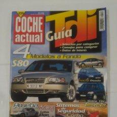 Coches: REVISTA COCHE ACTUAL Nº 556. 10 AL 16 DE DICIEMBRE DE 1998. VOLVO S80. CHRYSLER NEON. TDKR37. Lote 90512935
