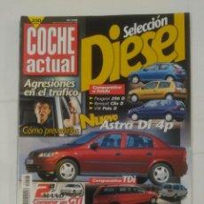 Coches: REVISTA COCHE ACTUAL Nº DEL 15 AL 21 DE OCTUBRE 1998. NUEVO ASTRA DI 4P. TDKR37. Lote 90519105