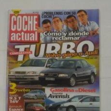 Coches: REVISTA COCHE ACTUAL Nº 513. 12 AL 18 DE FEBRERO 1998. VOLVO GANA A AUDI. TURBO. TDKR37. Lote 90519770