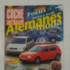 Coches: REVISTA COCHE ACTUAL Nº 546. 1 AL 7 OCTUBRE DE 1998. ALEMANES DE MODA. VOLVO S80. TDKR37. Lote 90523255
