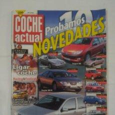 Coches: REVISTA COCHE ACTUAL Nº 545. 24 AL 1 DE OCTUBRE 1998 PROBAMOS 10 NOVEDADES. LIGAR EN EL COCHE TDKR37. Lote 90523705
