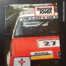 Coches: MOTOR JOVEN CON POSTER NUMEROS 62 1987. Lote 90552313