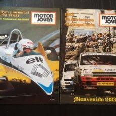 Coches: MOTOR JOVEN 2 REVISTAS CON POSTER 42,43 .1982. Lote 90552712