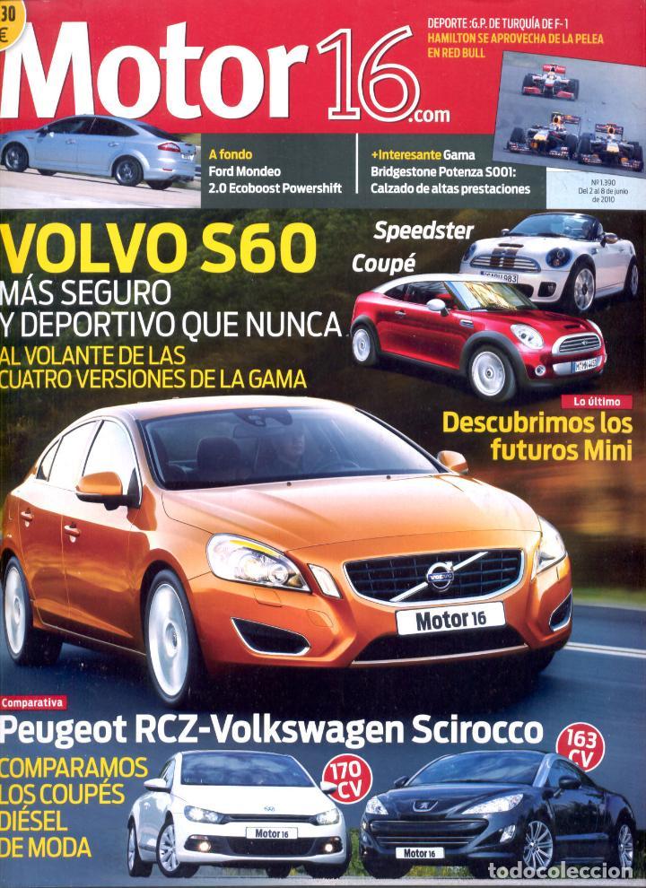 REVISTA MOTOR 16, Nº 1390, 2010, VOLVO S60 (Coches y Motocicletas Antiguas y Clásicas - Revistas de Coches)