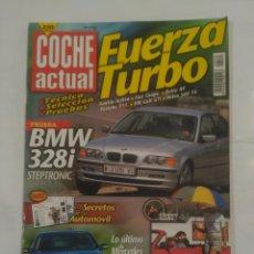 Coches: REVISTA COCHE ACTUAL Nº 535. 16 AL 22 DE JULIO 1998. BMW 328I STEPTRONIC TDKR37. Lote 90666760