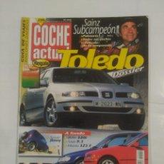 Coches: REVISTA COCHE ACTUAL Nº 554. 26 NOVIEMBRE AL 2 DICIEMBRE 1998. SEAT TOLEDO DOSSIER. TDKR37. Lote 90667545