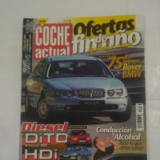 Coches: REVISTA COCHE ACTUAL Nº 558. 24 AL 30 DICIEMBRE 1998. ROVER BMW. TDKR37. Lote 90667635