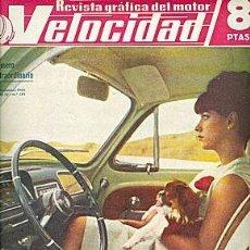 Carros: VELOCIDAD Nº 172 DICIEMBRE 1964 . Lote 91526350