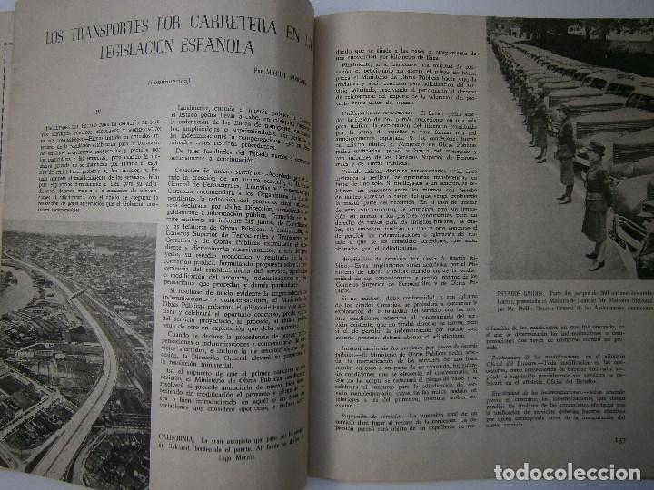 Coches: TRANSPORTES POR CARRETERA 5 Publicacion del instituto del transporte 1950 - Foto 5 - 91658745