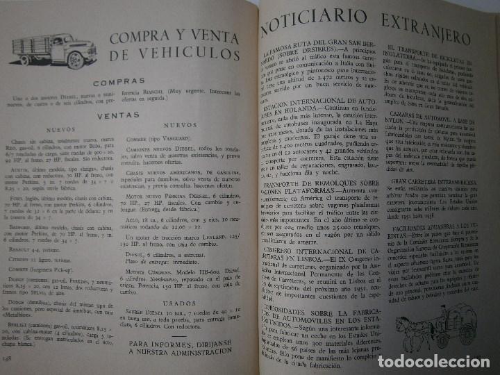 Coches: TRANSPORTES POR CARRETERA 5 Publicacion del instituto del transporte 1950 - Foto 7 - 91658745