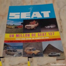 Coches: (TC-21) REVISTA SEAT 79 NUMERO 141. Lote 91674750